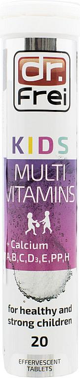 "Витамины шипучие ""Мультивитамин+Кальций"" - Dr. Frei Kids Multi Vitamins"