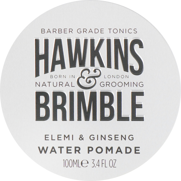 Помада для волос на водной основе - Hawkins & Brimble Elemi & Ginseng Water Pomade