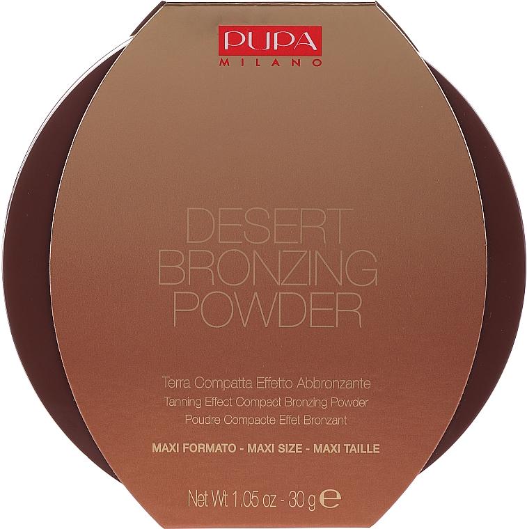 Компактная пудра с бронзирующим эффектом - Pupa Desert Bronzing Powder