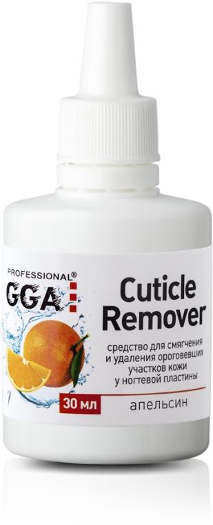 """Средство для удаления кутикулы """"Апельсин"""" - GGA Professional Cuticle Remover"""