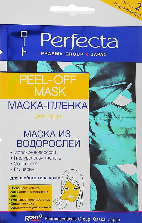 Маска-пленка для лица с водорослями - Perfecta Pharma Group Japan Peel-off Mask