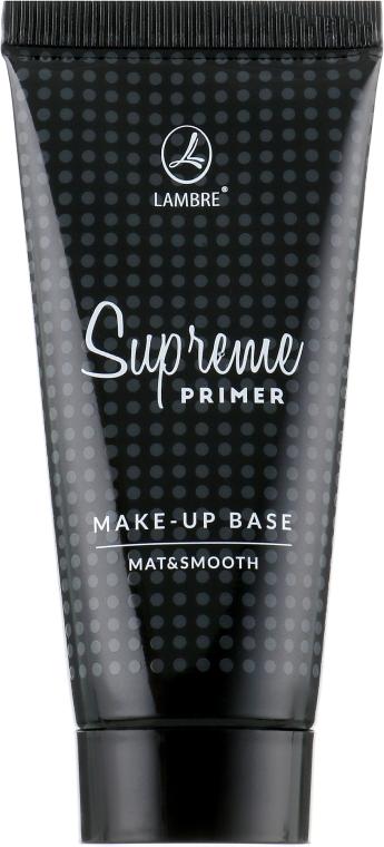 База под макияж - Lambre Supreme Primer Make-Up Base