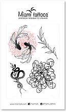 Духи, Парфюмерия, косметика Черные переводные тату - Miami Tattoos Fantasy by Sticksandbones