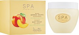 """Духи, Парфюмерия, косметика Питательный йогурт для тела """"Сочный персик"""" - Dzintars SPA Premium Body Yoghurt"""