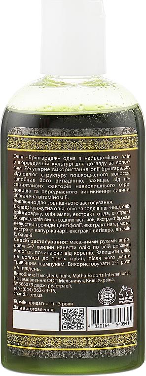 Натуральне масло для волосся - Chandi Bhringraj Hair Oil — фото N2
