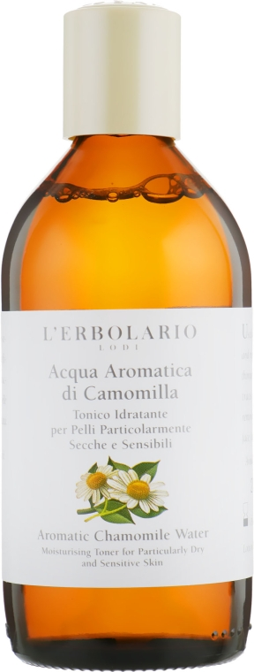"Ароматизированный тоник ""Ромашка"" - L'Erbolario Aromatic Camomile Water"