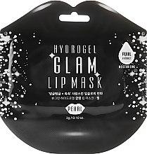 Духи, Парфюмерия, косметика Гидрогелевые патчи для губ с экстрактом жемчуга - BeauuGreen Hydrogel Glam Lip Mask Black Pearl