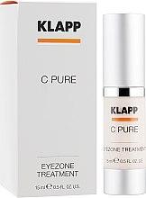Духи, Парфюмерия, косметика Крем для век с витамином С - Klapp C Pure EyeZone Treatment
