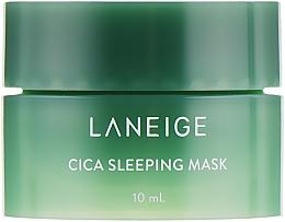 Духи, Парфюмерия, косметика Ночная маска для проблемной кожи - Laneige Special Care Cica Sleeping Mask (мини)