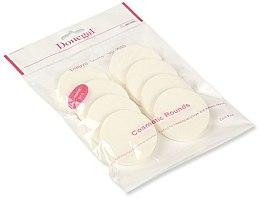Духи, Парфюмерия, косметика Спонж для макияжа, белый, 8 шт. 4302 - Donegal Sponge Make-Up
