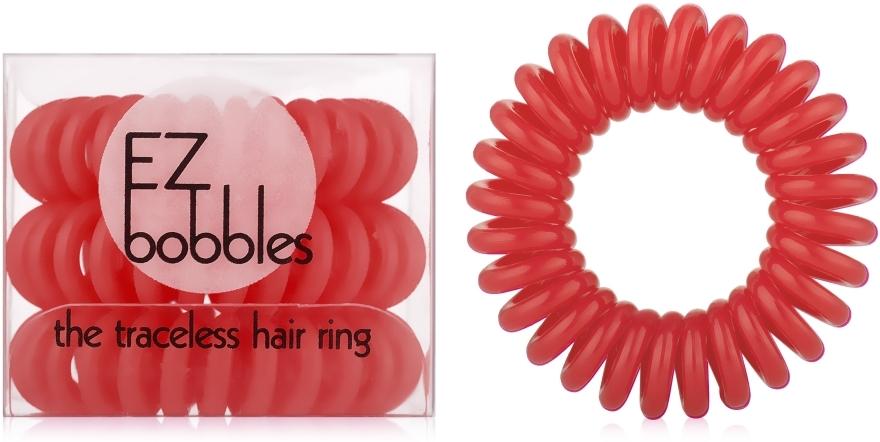 Резинка для волос, красная - EZ Bobbles