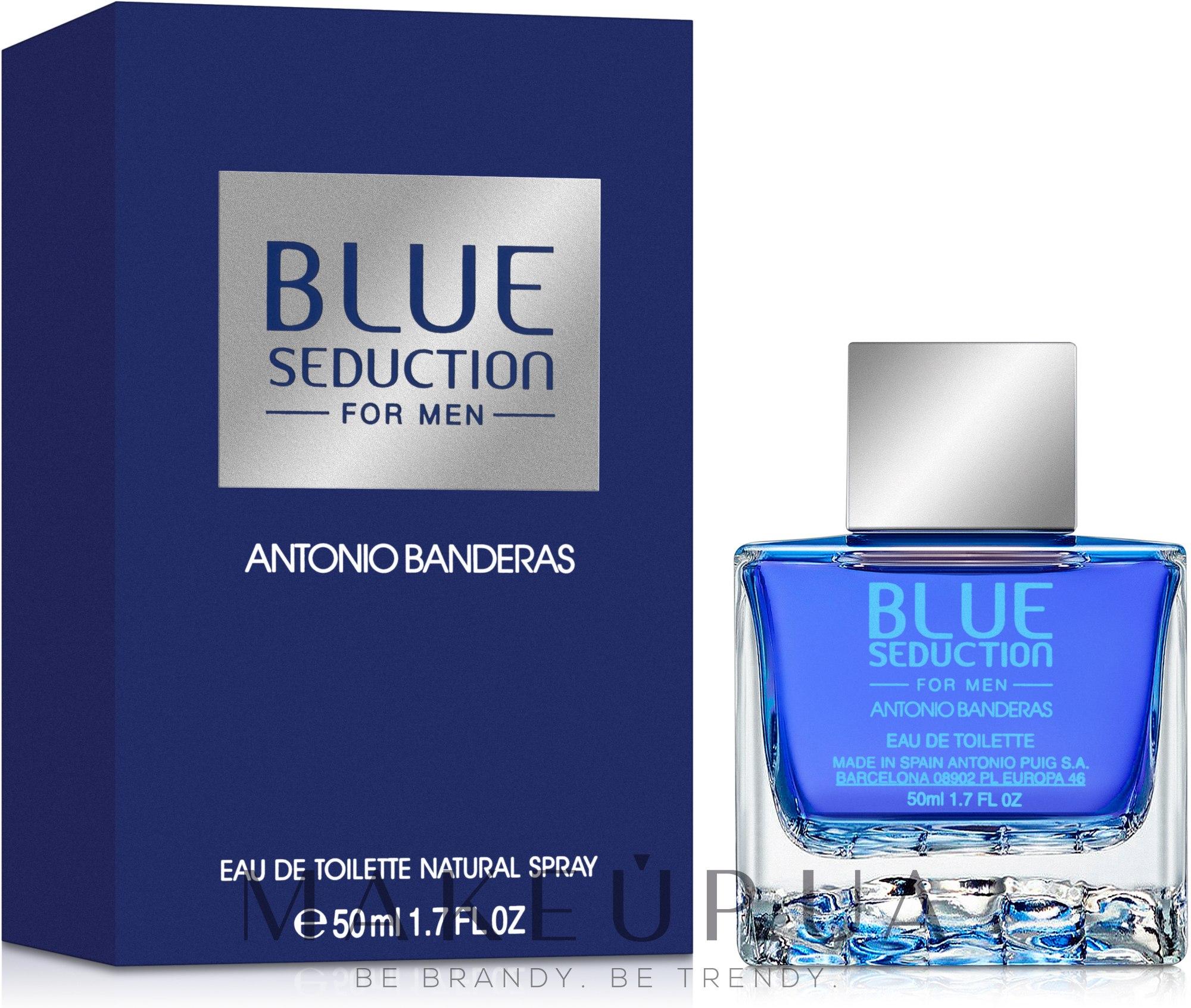 Blue Seduction Antonio Banderas - Туалетная вода — фото 50ml