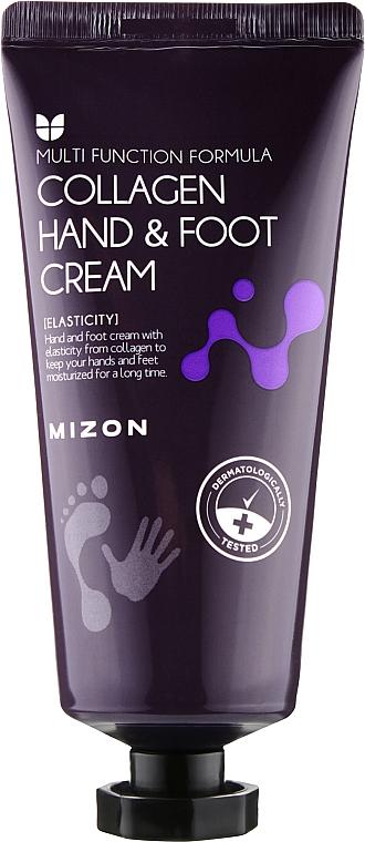 Крем для рук и ног с коллагеном - Mizon Collagen Hand And Foot Cream