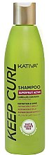 Духи, Парфюмерия, косметика Шампунь для вьющихся волос - Kativa Keep Curl Shampoo