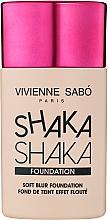 Духи, Парфюмерия, косметика Тональный крем с натуральным блюр-эффектом - Vivienne Sabo Shaka Shaka