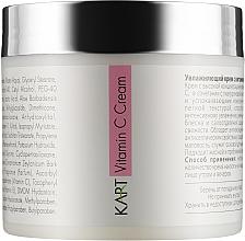 Духи, Парфюмерия, косметика Увлажняющий крем для лица с витамином С - Kart Facial Natural Medicare Vitamin C Cream