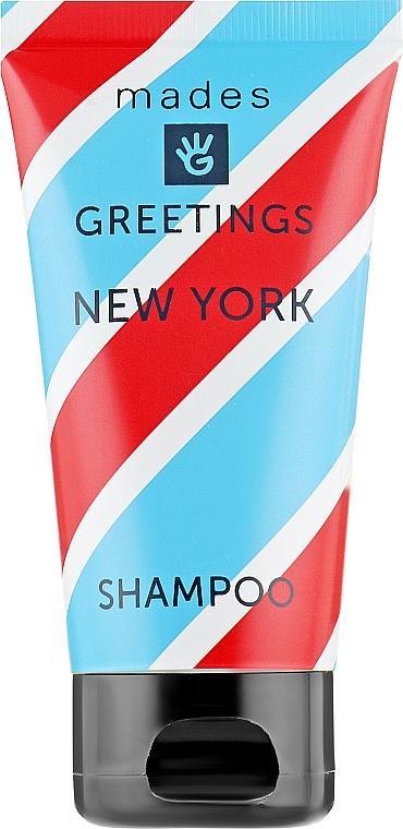 "Шампунь для волос ""Нью-Йорк"" - Mades Cosmetics Greetings Shampoo New York"