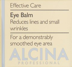 Духи, Парфюмерия, косметика Антивозрастной бальзам для век - Alcina E Eye Balm