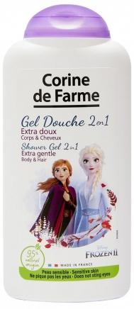"""Шампунь и гель для душа 2 в 1 """"Анна и Эльза"""" - Corine de Farme Frozen"""