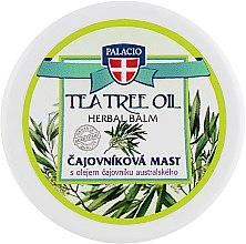 "Массажная вазелиновая мазь ""Масло чайного дерева"" - Palacio Tea Tree Oil Herbal Balm — фото N1"