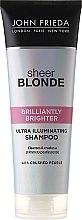 Духи, Парфюмерия, косметика Шампунь для придания блеска светлым волосам - John Frieda Sheer Blonde Brilliantly Brighter Shampoo