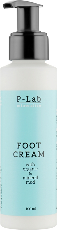 Минеральный крем для ног - Pelovit-R P-Lab Mineralize Foot Cream