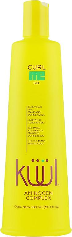 Несмываемый кондиционер-гель для кудрявых волос - Kuul Curl Me Gel