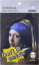 Духи, Парфюмерия, косметика 2-Ступенчатая система ухода за лицом - Oerbeua Don't Be So Serious Mask Shee