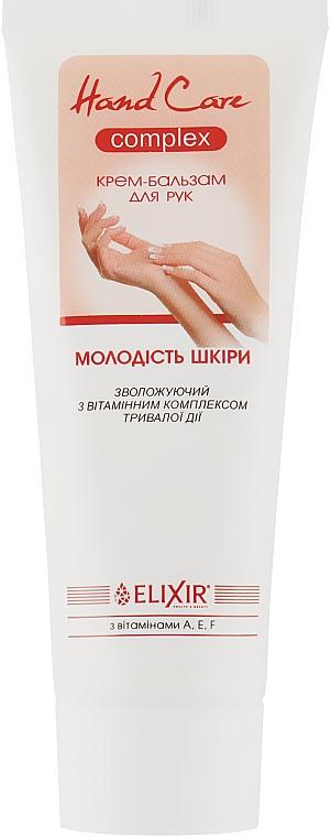 Крем-бальзам для рук с витаминным комплексом длительного действия - Эликсир