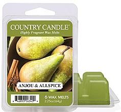 Духи, Парфюмерия, косметика Воск для аромалампы - Country Candle Anjou & Allspice Wax Melts