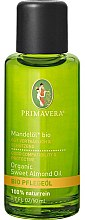Духи, Парфюмерия, косметика Миндальное масло для тела - Primavera Organic Sweet Almond Oil