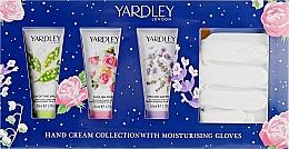 Духи, Парфюмерия, косметика Набор - Yardley Of London Coffret (h/cr/3x50ml + gloves)