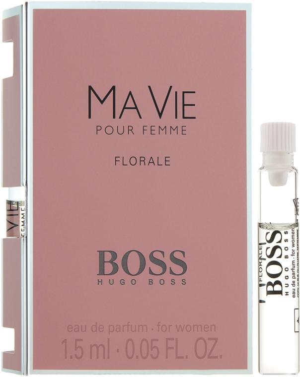 Hugo Boss Boss Ma Vie Pour Femme Florale - Парфюмированная вода (пробник)