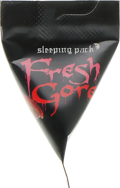 Ночная маска для лица - Too Cool For School Fresh Gore Sleeping Pack (пробник)