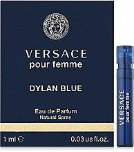 Духи, Парфюмерия, косметика Versace Dylan Blue Pour Femme - Парфюмированная вода (пробник)