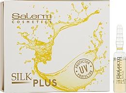 Засіб для захисту волосся і шкіри - Salerm Silk Plus — фото N1