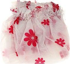 Духи, Парфюмерия, косметика Шапочка для душа, 9298, бело-розовая - Donegal