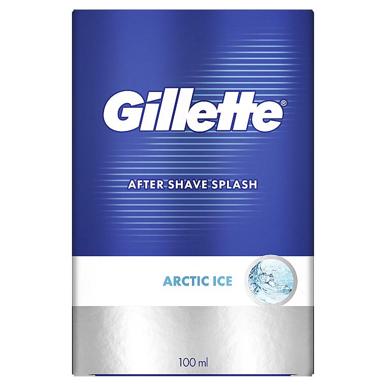 """Лосьон после бритья """"Бодрящий"""" - Gillette Series Arctic Ice After Shave Splash Bold"""