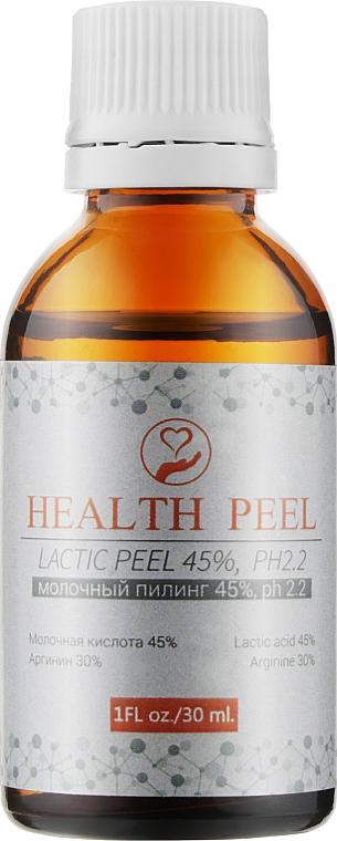 Молочный пилинг - Health Peel Lactic Peel 45%, рН 2.2
