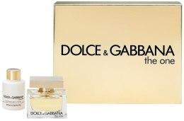 Духи, Парфюмерия, косметика Dolce&Gabbana The One - Набор (edp 50 + b/l 100)