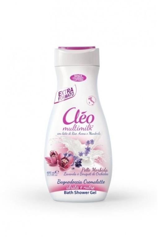 """Гель и пена для душа """"Лаванда и Орхидея"""" - Cleo Gel And Foam Shower Gel"""