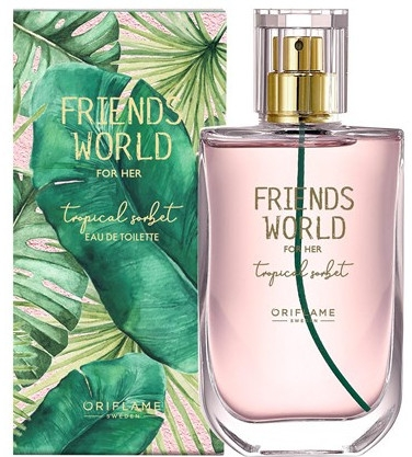 Oriflame Friend's World For Her Tropical Sorbet - Туалетная вода