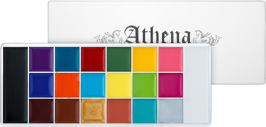 Палитра грима 18 оттенков - Ucanbe Athena Painting Palette