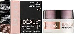 Духи, Парфюмерия, косметика Ночной крем для лица - Lirene Ideale Pro 45+