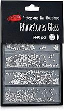 Духи, Парфюмерия, косметика Стразы для ногтей - PNB Cryatal Mix SS2,3,6,8,10,12 Glass