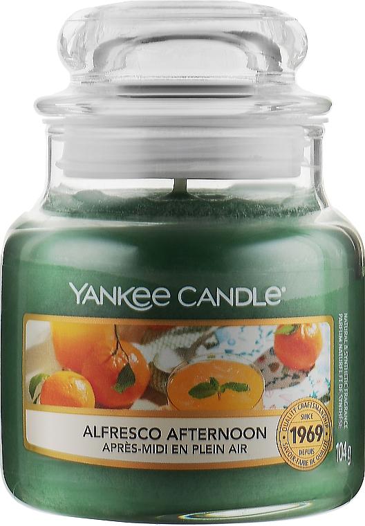 Ароматическая свеча в банке - Yankee Candle Alfresco Afternoon