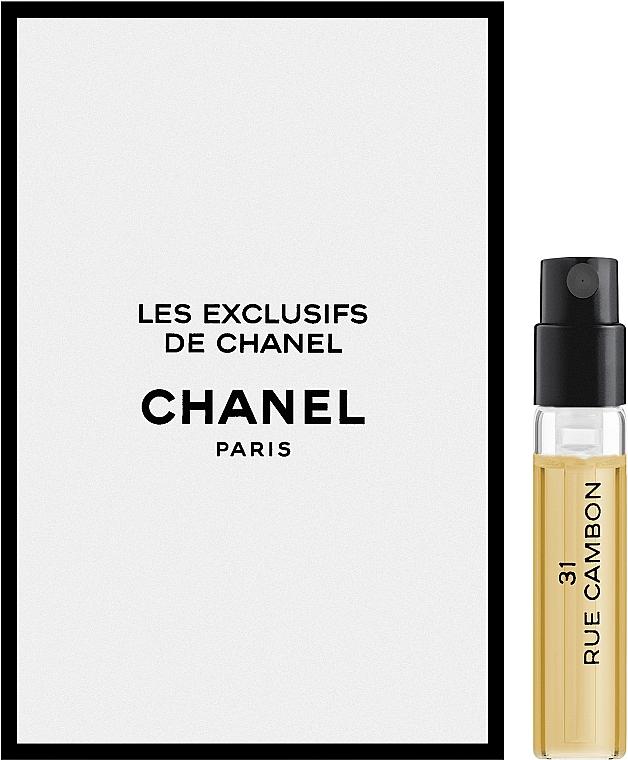 Chanel Les Exclusifs de Chanel 31 Rue Cambon - Туалетная вода (пробник)