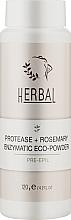 Духи, Парфюмерия, косметика Энзимная пудра для тела - Elenis Herbal Pre-Epil Proteaze+Rosmary Enzimatic Eco-Powder