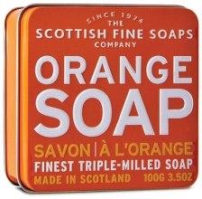 "Духи, Парфюмерия, косметика Мыло ""Апельсин"" - Scottish Fine Soaps Orange Soap Tin"