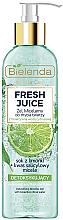 Духи, Парфюмерия, косметика Мицеллярный гель с детокс-эффектом - Bielenda Fresh Juice Detox Lime
